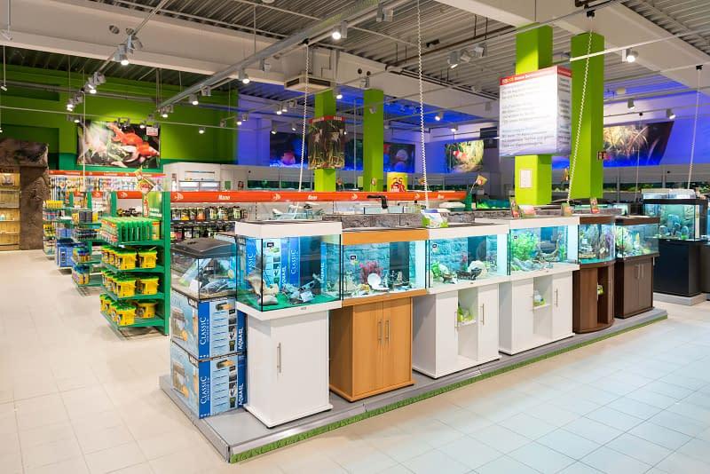 Virtuelle Tour im Tiermarkt Fressnapf Schwentinental